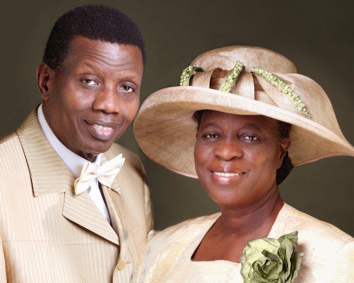 Pastor Adeboye's wife, others pray for President Buhari