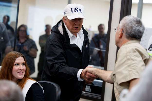 Trump to visit victims of unprecedented floods in Texas and Louisiana