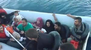 Aegean Sea crossing : Turkish Coast Guard intercepts 96 refugees