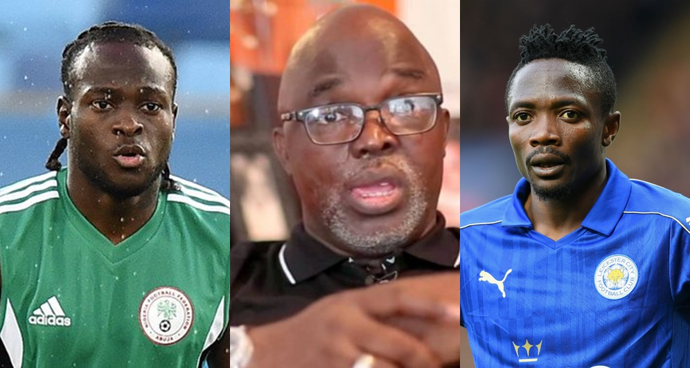 Victor Moses And Ahmed Musa Snub Amaju Pinnick At Yaounde Airport
