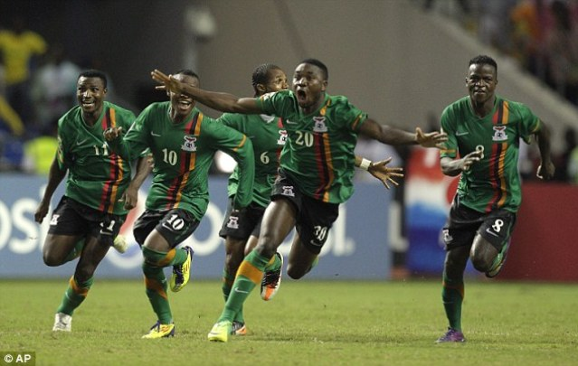 2018 W/Cup Qualifier: Zambia bear Algeria 3-1 in Lusaka