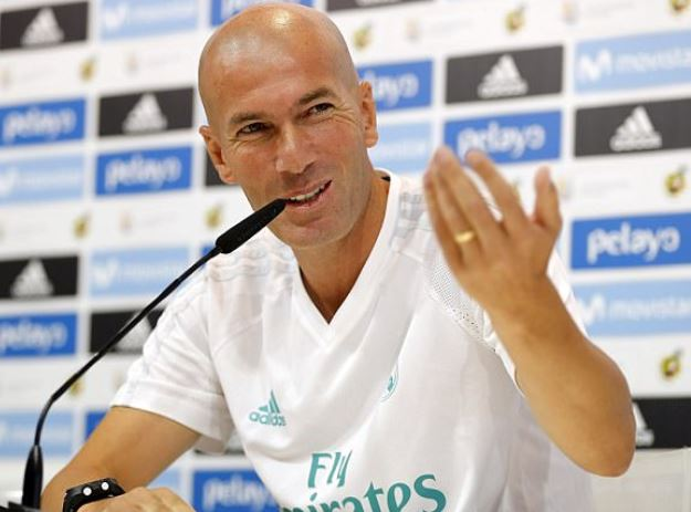 I have signed new deal Zinedine Zidane