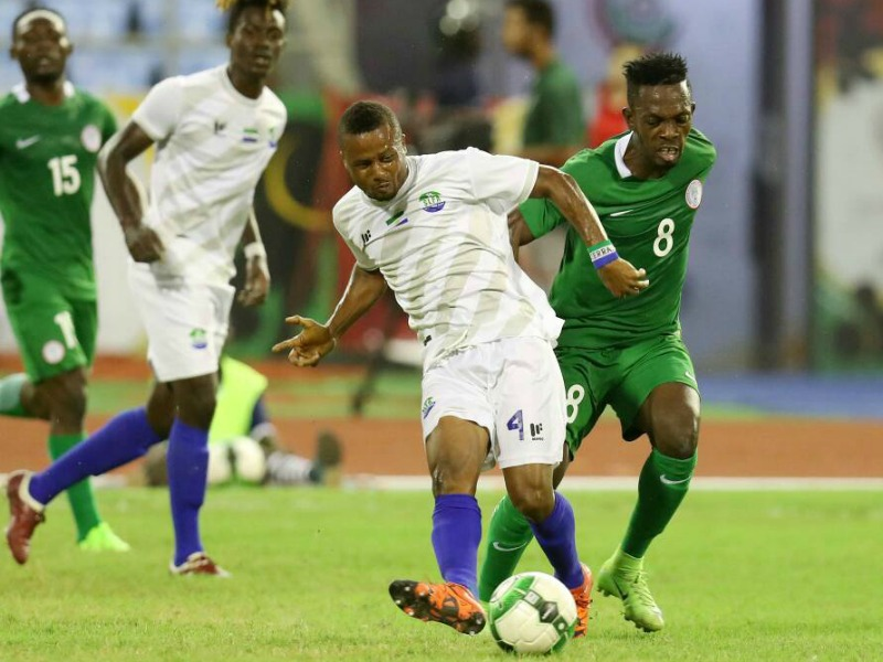 Imama praises Home-based Eagles over Sierra Leone win