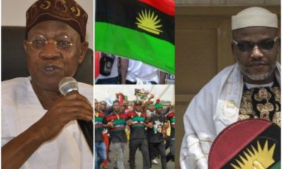 We are aware that IPOB gets foreign support – Lai Mohammed