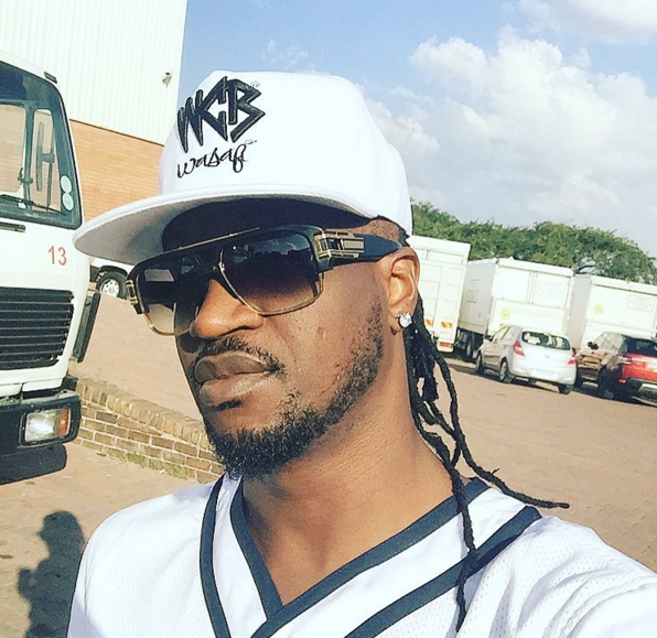 """May thunder fire the people that denied us all these good things of life""- Paul Okoye"
