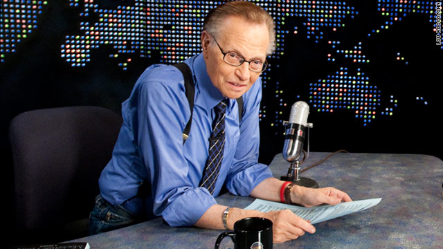 Larry King reveals he was diagnosed with Lung Cancer