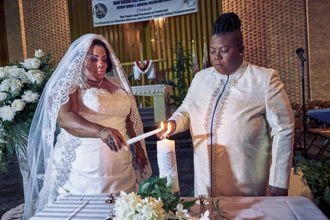 Two Lesbian Pastors wed In The United States