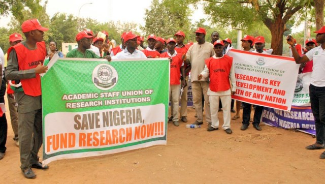 Nigeria's Researchers' Union threatens to go on strike