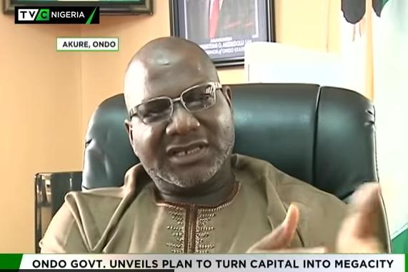 Ondo govt unveils plan to turn Akure into Megacity