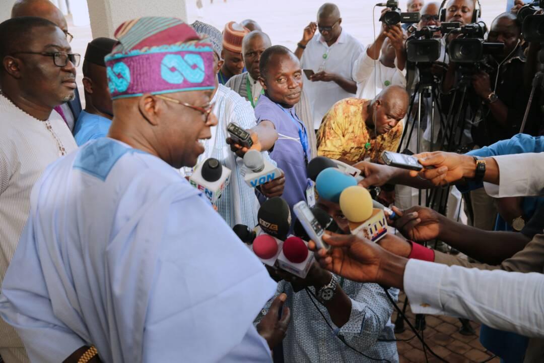 No cabal in Buhari's govt, it's all myth – Tinubu