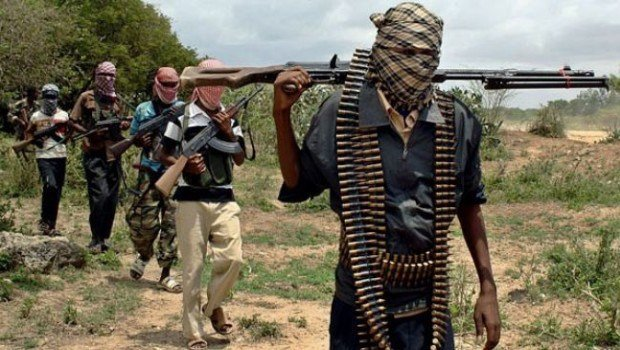 Guzamala in north east Nigeria under Boko haram siege