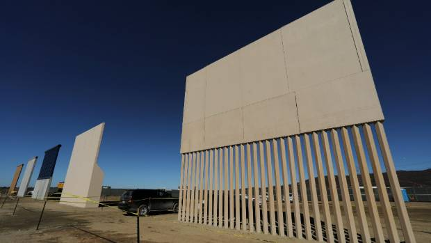Trump's border wall promise sees first tangible signs