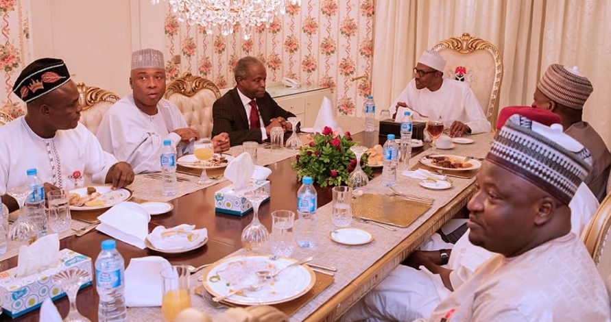 President Buhari apologises over cancelled dinner with lawmakers