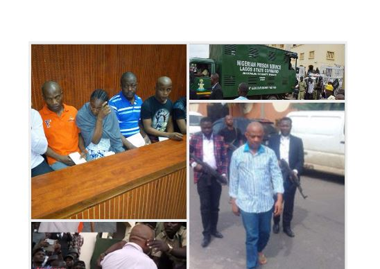 Evans' fate to be decided in November, accomplices moved to Kirikiri Prisons