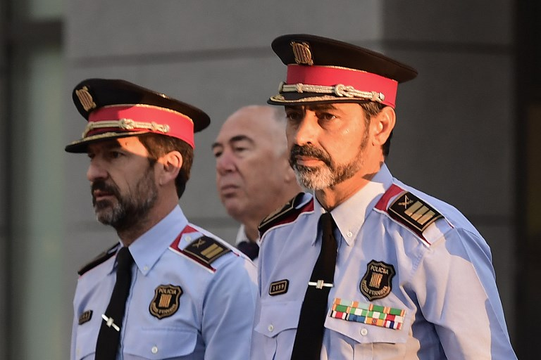 Catalan head of Police appears before Spanish High Court