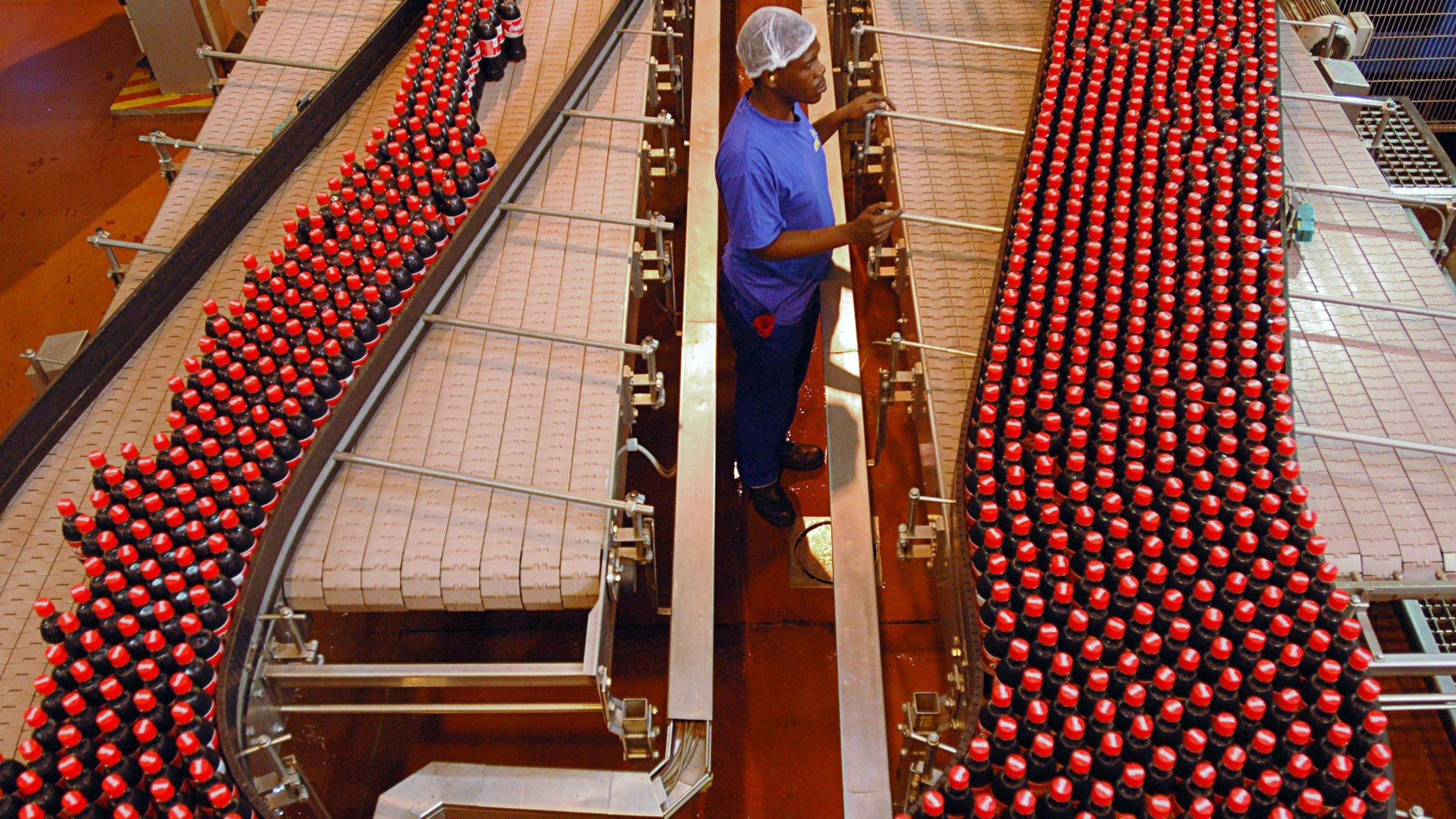 Coca Cola workers in South  Africa down tools
