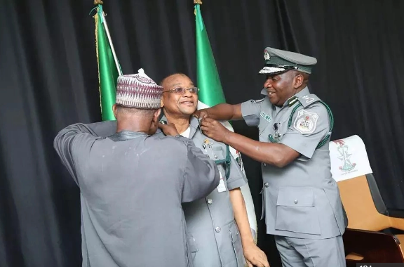 Nigeria Customs Service promotes 14 Officers