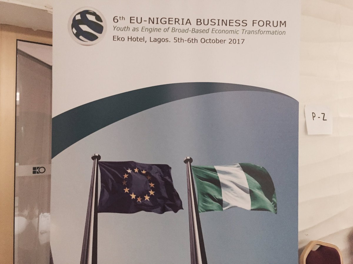 EU-Nigeria business forum ends with focus on ICT, youths and women