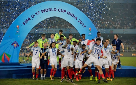 FIFA U-17 W/Cup: England claim first title after comeback win over Spain