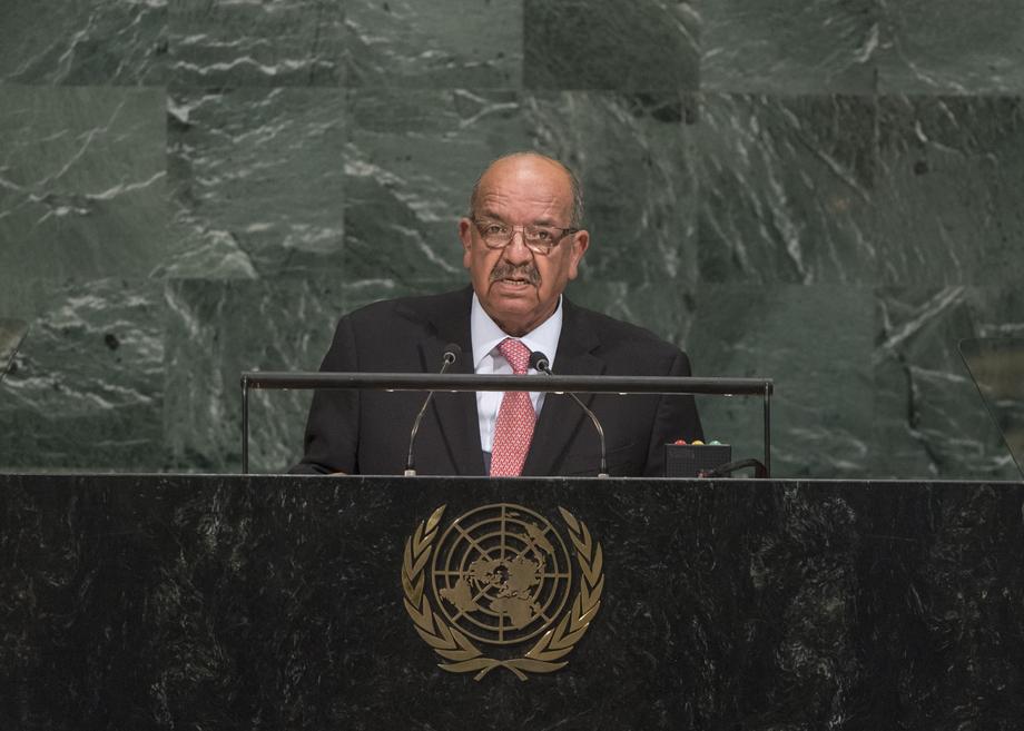 Algeria calls for global effort to eradicate terrorism