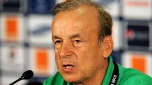 Russia 2018: Rohr brands NFF's semi-final target excess