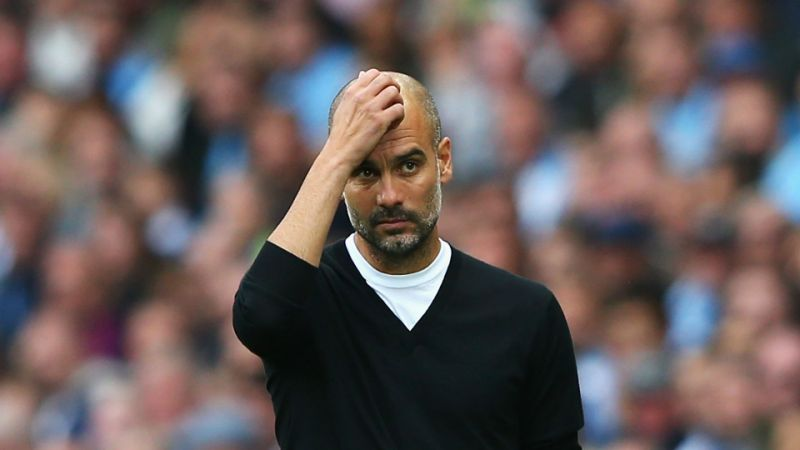 Guardiola says Man. City will struggle to stay unbeaten