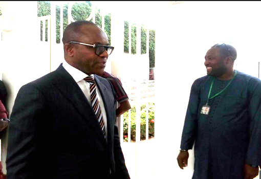 Leaked Memo: Kachikwu keeps mum after meeting with Buhari
