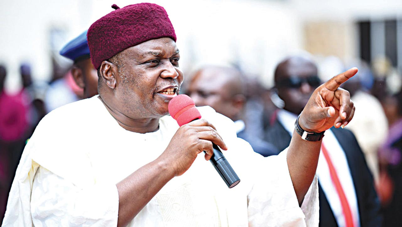 Taraba crises : You lied, Governor Ishaku tells military