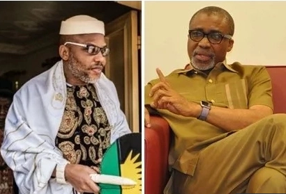 Court orders Senator Abaribe to provide Nnamdi Kanu