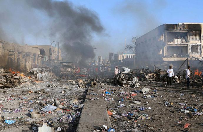 Death toll from blasts in Somalia's capital Mogadishu rises to 85