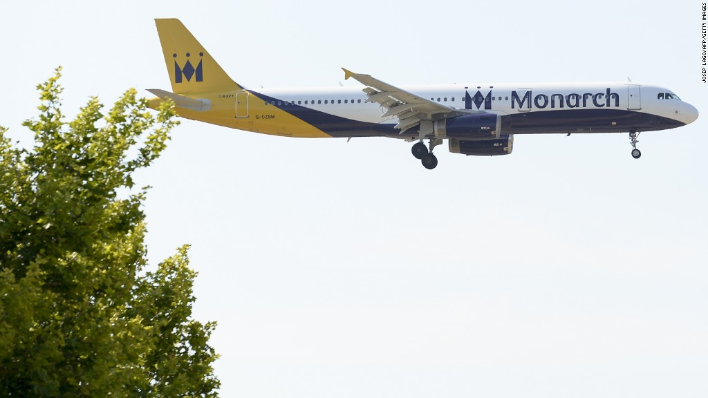 Monarch Airlines in UK stops operations