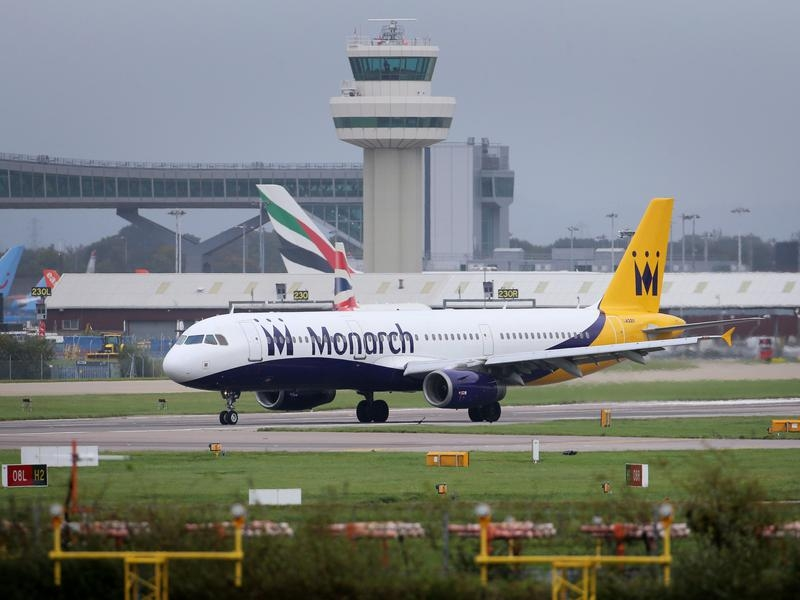 Britain's Monarch Airlines collapses, stops operations