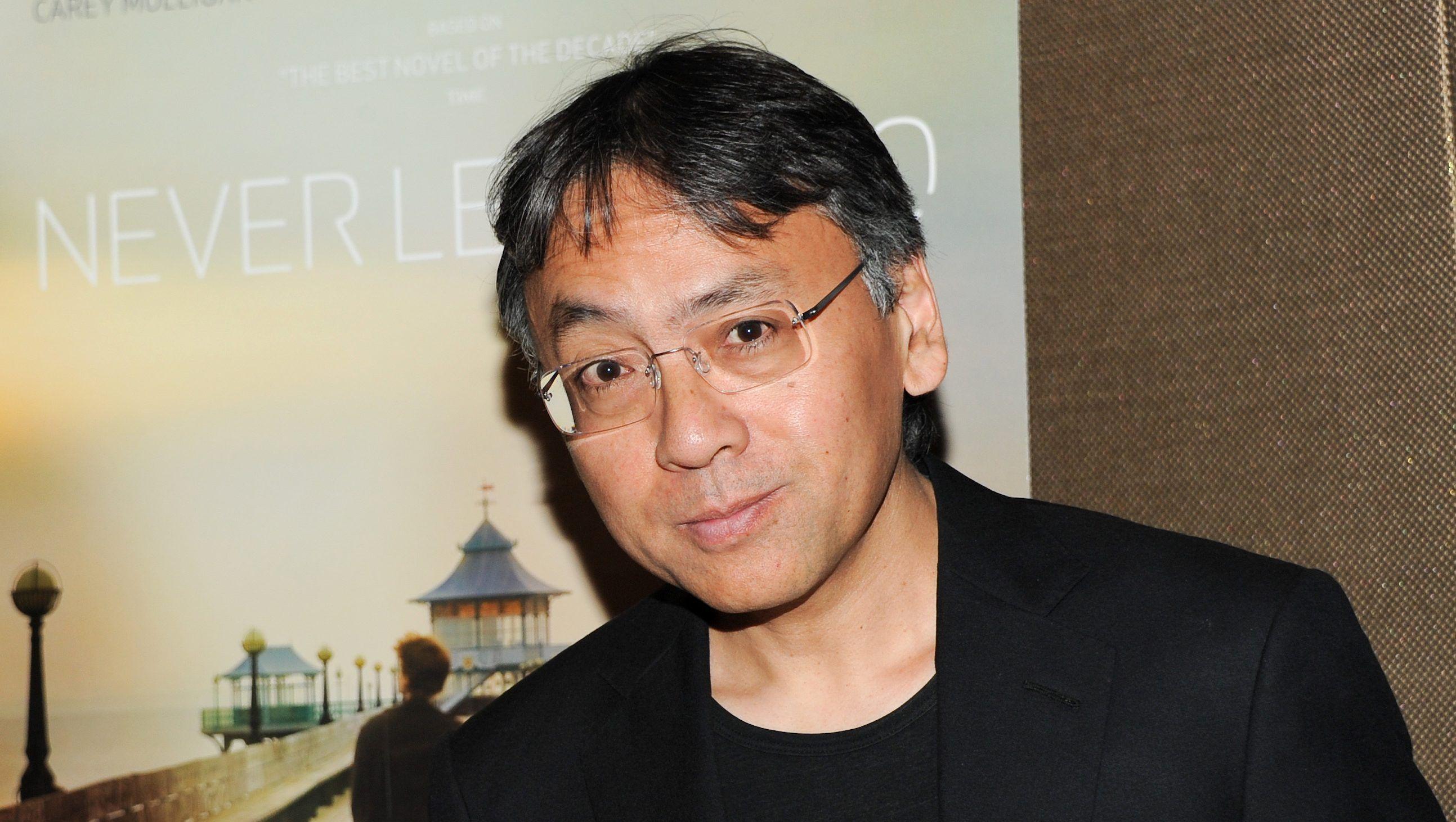British novelist Kazuo Ishiguro wins Nobel Prize for Literature