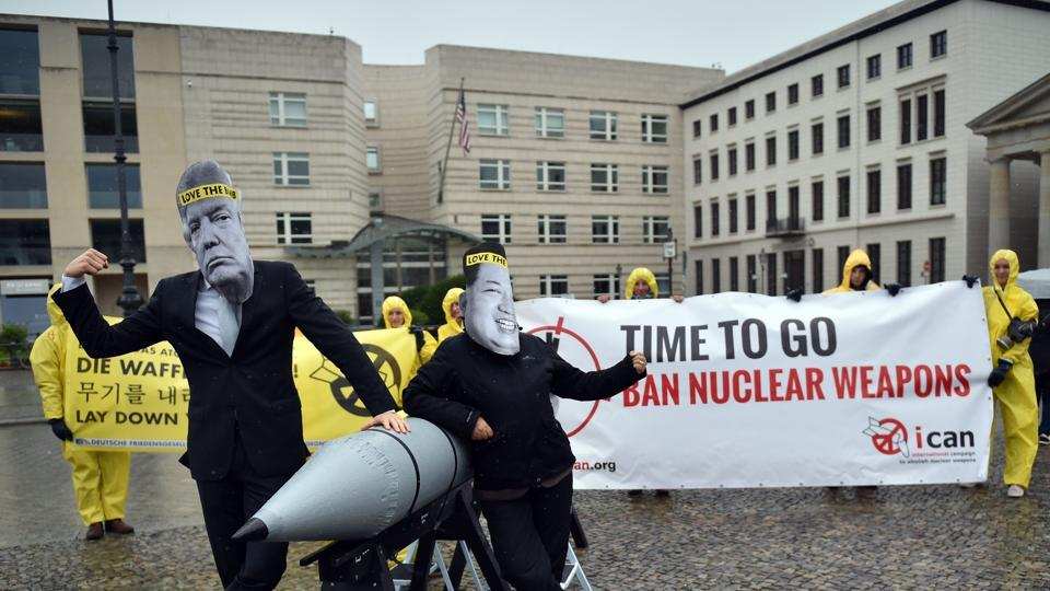 Int'l Campaign to abolish Nuclear Weapons wins Nobel Peace Prize award