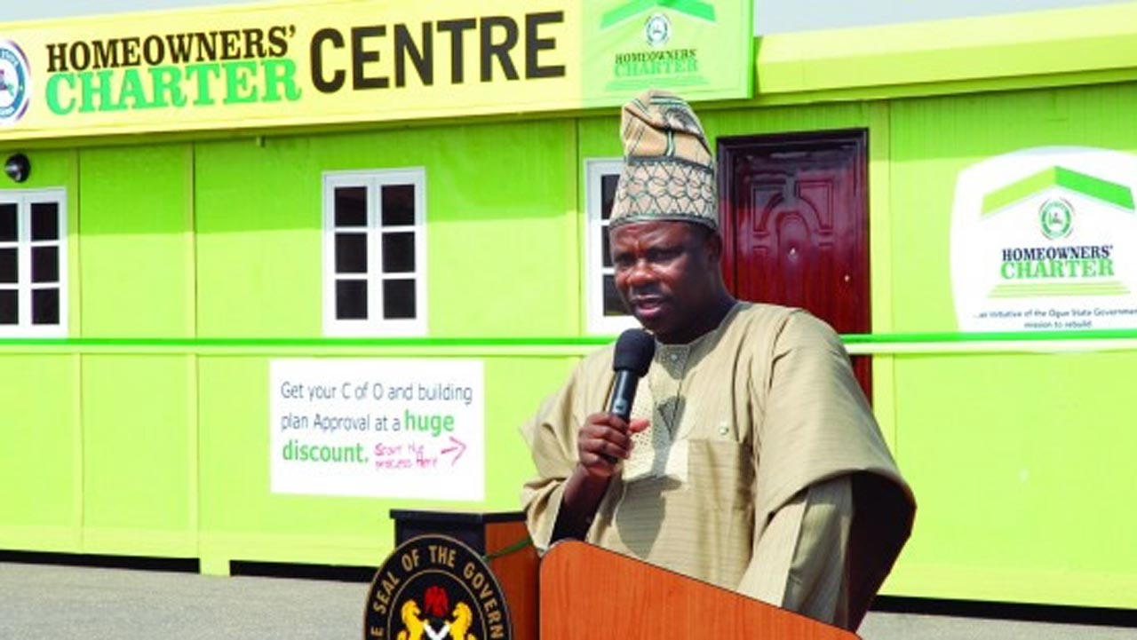 38,000 applicants receive Certificate of Occupancy in Ogun