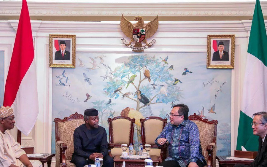 Nigeria and Indonesia to increase investments – Osinbajo