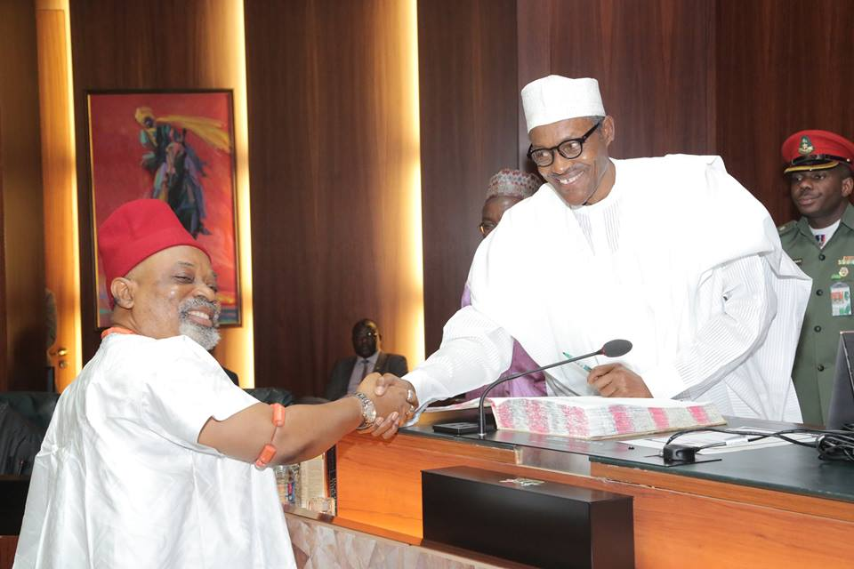 Ngige absolves Buhari of blame on alleged marginalisation of Ndigbo