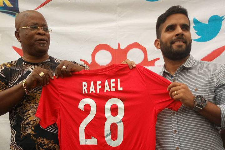 Abia Warriors unveil Brazilian Everton as new manager