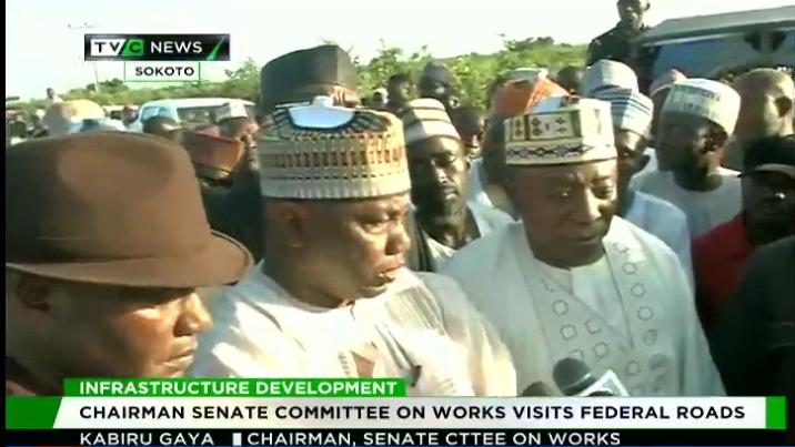 Senate Committee on roads visits federal roads