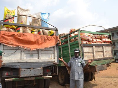 Customs seizes smuggled rice worth $64,000 in Port Harcourt