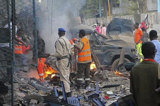 Somali military end siege at hotel, 23 people dead