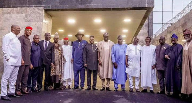Southern Governors agree on Nigeria's indivisibility