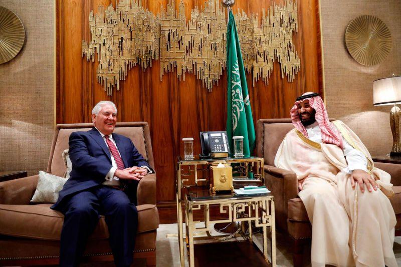 Tillerson calls for improved relationship between Saudi Arabia, Iraq