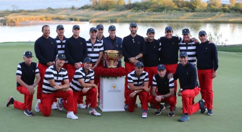 United States win Presidents Cup golf over International team