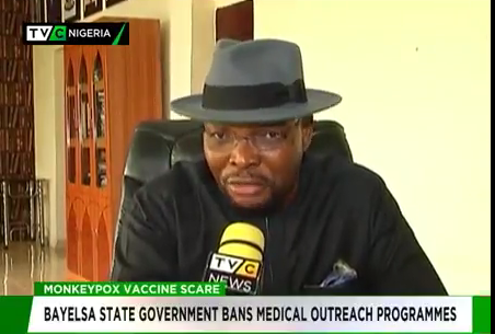 Monkeypox vaccination scare: Bayelsa govt bans medical outreach programmes