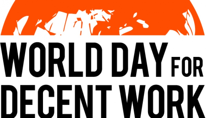 Workers hold rally in Lagos to mark 'World Day for Decent Work'