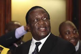 Mugabe swears in Mnangagwa replacement to Justice ministry