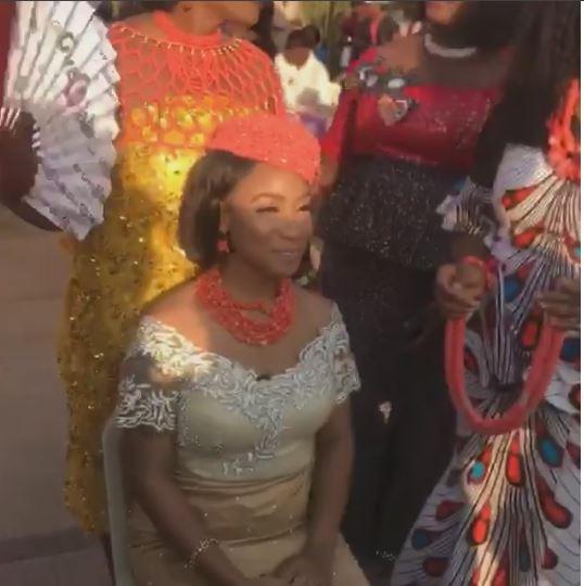Photos: Tonto Dikeh receives chieftaincy title 'Adadioranma of Nollywood'