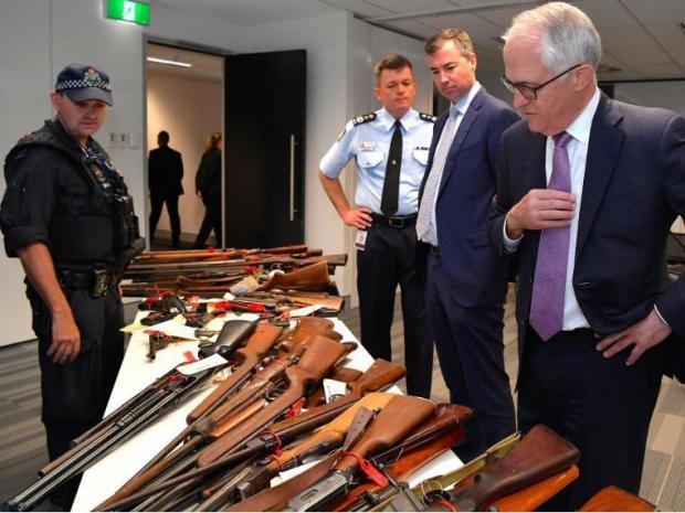 Australians surrender more than 51,000 illegal guns