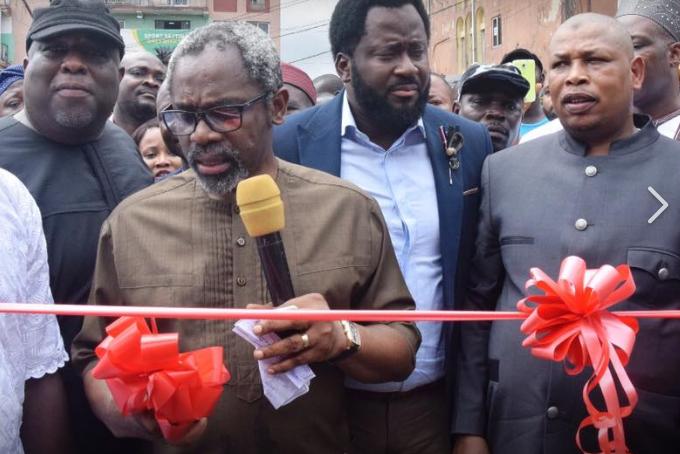 Gbajabiamila Commissions new RTEAN Park in Ojuelegba